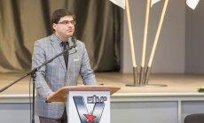 Валев Калд выступает на прошлогоднем съезде ОЛПЭ