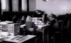 VANAD FILMIKAADRID 1958: Telefonistid leidsid ühenduse Inglismaaga ja Eesti malemehed said Keresele võidu puhul õnne soovida