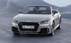 Saadaval kupee ja rotsterina: Audi esitles uut TT RS-i
