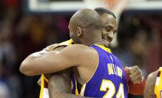 VIDEO: James rikkus Bryanti hüvastijätu Clevelandi publikuga