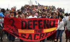 Loodusesõbrad üle kogu maailma ühendavad täna ühispalves ja -meditatsioonis jõud Standing Rocki toetuseks