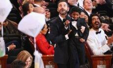 Piinlik olukord: õhtujuht Jimmy Kimmel teeb