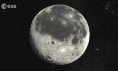 NASA: Kuu pind särtsub ja sulab päikesetormide ajal