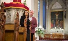 Raul Altmäe ja Liivi Laos ootavad vähihaigete laste vanemaid homme Oleviste kirikusse.