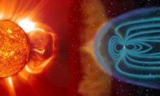 Purse päikeselt ja kaitsev magnetväli maakera ümber