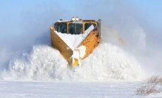 Lumesahk raudteel - ehk kui ka hiigelhanged rööbastel, peab rong ikka sõita saama