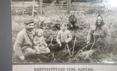 Punutud kartulikorv oli metsavendade kingitus
