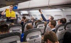 Eesti võrkpallikoondise reis EM-ilt Itaaliast kodumaale.