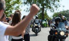 DELFI FOTOD JA VIDEO VAO KÜLAST: Kohalikke saabus toetama sadu inimesi, üritus möödus rahumeelselt