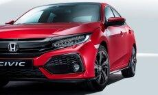Vaata ja imetle! Selline näeb välja värske Honda Civicu luukpära