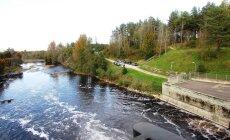 ФОТО и ВИДЕО читателя Delfi: Разве может быть ГЭС живописной? Может!