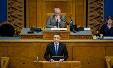 Peaministrikandidaadi volitamine Riigikogus