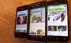 Delfi mobiili app
