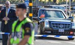 Barack Obama visiit Rootsi. Kuninga juurde minemas