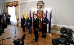 USA asepresident Joe Biden kohtus Baltimaade presidentidega