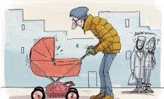 Isaks olemise karistus: hakkad teenima nagu naine