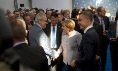 Angela Merkeli visiit ja kõne SpaceXis