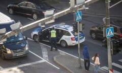 Liiklusõnnetus jalakäijaga Pronksi ja Narva mnt ristmikul