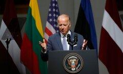 DELFI FOTOD: Biden kõnes Baltimaade rahvastele: USA ei vea oma liitlasi alt