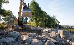 Kaldarajatise ehitamine - Rohuneeme tee lähistel