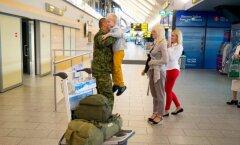 Kesk-Aafrikas teeninud kaitseväelased jõudsid koju