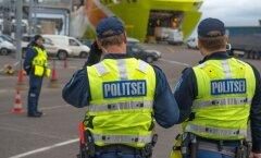 Politseireid Tallinna sadamas