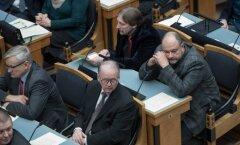 Rahanduskomisjoni juht arvas, et koalitsioonis olles tuleb riigikogu liikmel ainult nuppu vajutada
