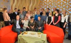 """FOTOD: Palju õnne """"Terevisioon""""! Telemajas tähistati legendaarse hommikuprogrammi 15. sünnipäeva"""