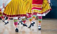 II eesti naiste tantsupeo ülevaatus-kontsert