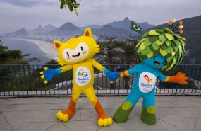 FOTOD: Rio olümpia maskott on kollane kass. Vali talle nimi!