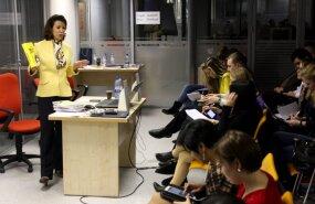 """DELFI В МОСКВЕ: Как молодых журналистов обучают в """"логове"""" российской пропаганды"""