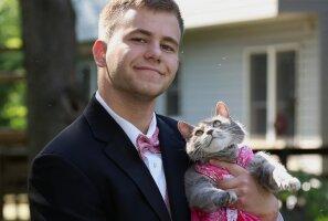 Armas: Noormees ei leidnud kuidagi koolilõpuballile kaaslast, võttis hoopis kaasa oma kassi