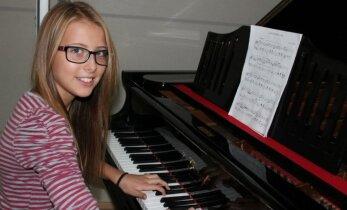Intervjuu 12-aastase Gretega, kelle jaoks klaverimäng on puhas rõõm