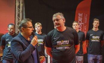 HOMME DELFI TV-s: Tartu Ülikool alustab Meistrite liigat. Kullamäe: saab näha, kuidas mängime, kui midagi vahel on