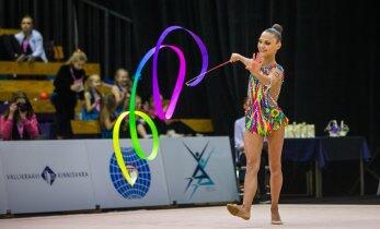 Гимнастка Яаника Вартлаан впервые выиграла чемпионат Эстонии