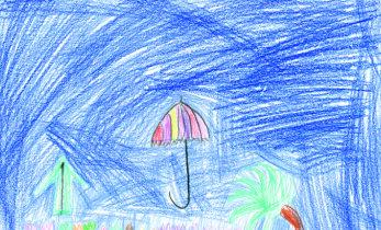 Laste omalooming, loe vahvaid lugusid vihmavarjudest