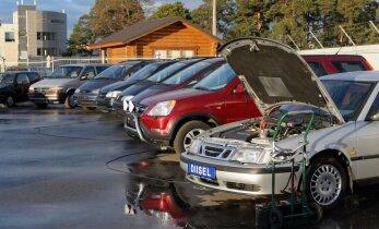 Ametid puistasid taas kasutatud autode müügiplatse Tartus. Vaata nimekirja!