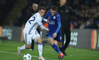 FOTOD: Leicester jätkab Meistrite liigat täiseduga, Realile suureskooriline võit