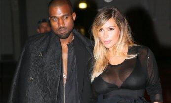 FOTOD: 10 miljoni dollari võrra vaesemaks röövitud Kim Kardashian saabus koju hiigelsuure autokolonni saatel