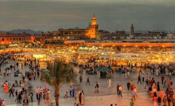 Joostes läbi Marrakechi
