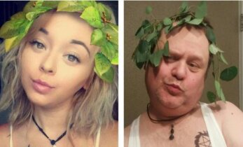 Naerutavad FOTOD: Isa tuli geniaalsele ideele, kuidas peatada oma tütar väljakutsuvaid selfisid tegemast