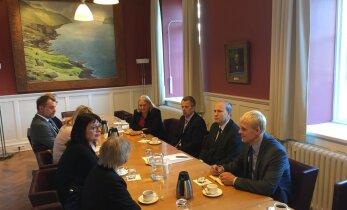 Министры иностранных дел стран Балтии и Исландии отметили 25 лет со дня восстановления дипотношений