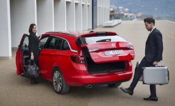 Opel Astra Sports Tourer panustab mugavusele