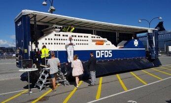 Судоходная компания построила самый большой в мире корабль из Лего