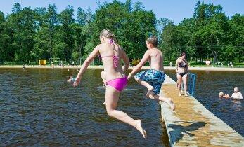 10 põhjust, miks suvel kindlasti ujumas peaks käima