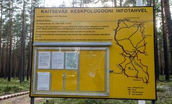 Kaitsevägi sai loa korraldada väljaõpet ka keskpolügooni ümbritsevas metsas