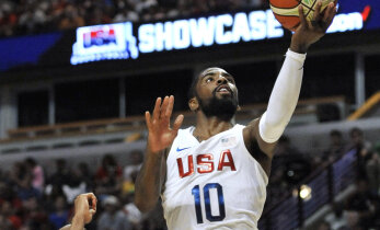 USA korvpallikoondis hoidis Venetsueela 45 punkti peal