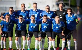 Eesti langes FIFA edetabelis veel madalamale, Reimi stardipunkt on sisuliselt sama mis Rüütlil