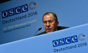 Lavrov: andsin üle tõendid selle kohta, et lääs lubas NATO-t mitte laiendada
