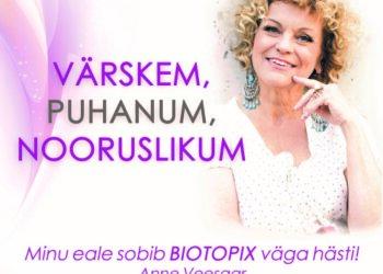 AUHINNAMÄNG | Vasta küsimusele ja võida tõhusalt noorendavad Biotopixi tooted